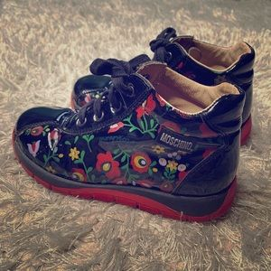 Moschino Girls Floral Runners